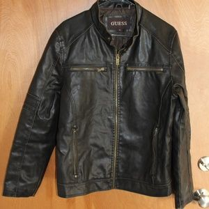 Guess Non Leather Moto Jacket